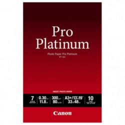 CANON Pack de 1  Papier photo pro platinum 300g/m2 - PT-101