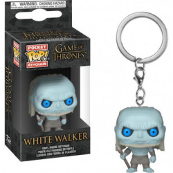 Porte-clés Funko Pocket Pop! Game Of Thrones S10: White Walker