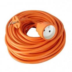 Rallonge électrique de jardin câble HO5VVF 2 x 1.5 mm2