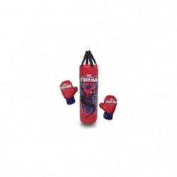 NERF Punching Ball Sac de Frappe 50cm et 1 Paire de Gants