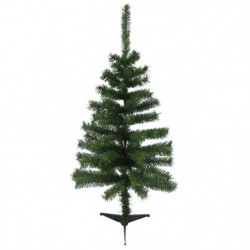 Sapin de Noël artificiel - 80 branches - Ø 50 x H 90 cm