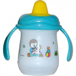 TIGEX Tchoupi Tasse Anti-fuite Embout Souple 300 ml