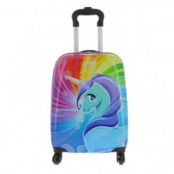 Valise Cabine Rigide 109995UNI2 Licorne 4 Roues Multicolore