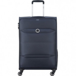 NEW EASY TRIP Valise Trolley 68 Cm 4 Roues TSA Anthracite