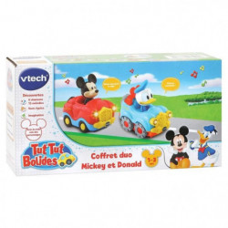 VTECH - Tut Tut Bolides Mickey - Coffret Duo - Cabriolet