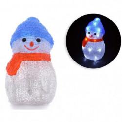 Bonhomme de neige - 16 LED - 3V - H19 cm