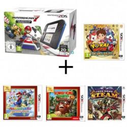 Nintendo 2DS + Mario Kart 7 + Donkey Kong Country + …