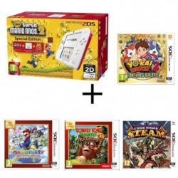 Nintendo 2DS + New Super Mario Bros 2 + Donkey Kong Country