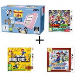 Nintendo 2DS Tomodachi Life + Mario & Luigi + Les sbires…