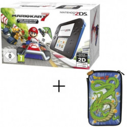 2DS + Super Mario Kart 7 + Housse 2DS Konix Dragon Ball Shenron