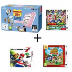 Nintendo 2DS avec Tomodachi Life + Mario & Luigi