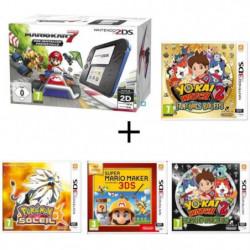 Nintendo 2DS + Mario Kart 7 + Yo-Kai Watch 2