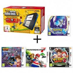 Nintendo 2DS + New Super Mario Bros 2 + Yo-Kai Watch 2