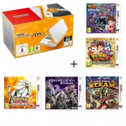 New 2DS XL + Fire Emblem Fates: Conquete + Yo-Kai Watch 2