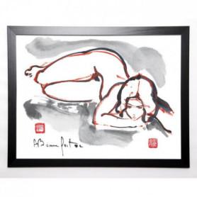 BONNEFOIT ALAIN Image encadrée Loeren 57x77 cm