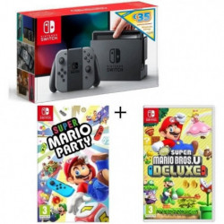 Pack Nintendo Switch Grise Edition Limitée + …