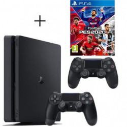 Pack Playstation : PS4 500Go + eFootball PES 2020 + …