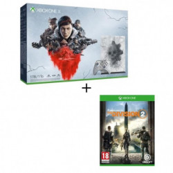 Xbox One X 1 To Edition Limitée + 5 jeux Gears of War + …