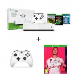 Xbox One S All Digital Refresh 1 To + Manette Xbox One blanche