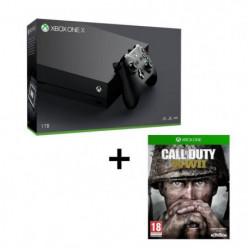 Pack Xbox One X 1 To + Call of Duty WWII