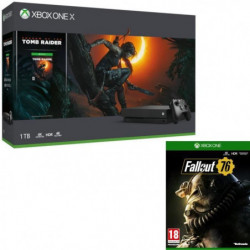 Xbox One X 1 To Shadow of The tomb Raider + Fallout 76