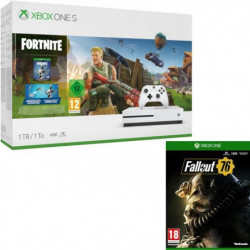 Xbox One S 1 To Fortnite + Fallout 76