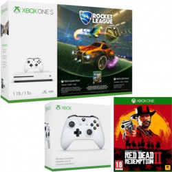 Xbox One S 1 To Rocket League + Red Dead Redemption 2 + …