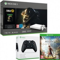 Xbox One X 1 To Fallout 76 Edition limitée Robot White + …