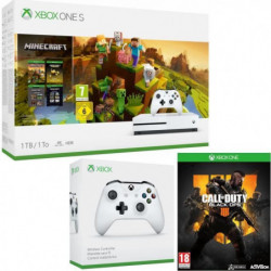 Xbox One S 1  To Minecraft Creators + Call of Duty Black Ops 4