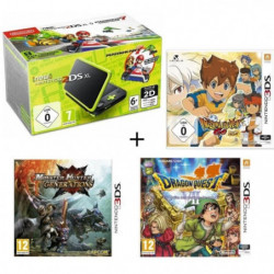 New DS XL Noir et Citron + Monster Hunter Generations + …