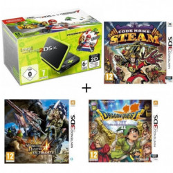 New DS XL Noir et Citron + Monster Hunter 4 Ultimate + …