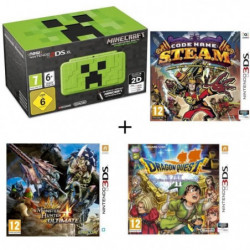 New 2DS XL Minecraft Creeper Edition + …