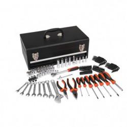 MANUPRO Caisse a outils de mécanicien - 129 outils