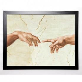 MARTIN Image encadrée Michelangelo The Creation 67x87 cm