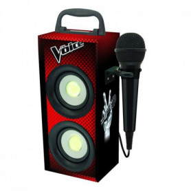LEXIBOOK - THE VOICE - Mini Tour Bluetooth Karaoké