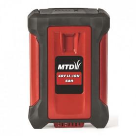 Batterie 40V -Li-ion starter 4Ah - Temps de charge