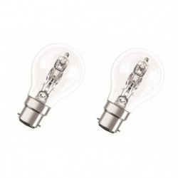 OSRAM Lot de 2 ampoules Eco-Halogenes B22 46 W équivalent a 60 W