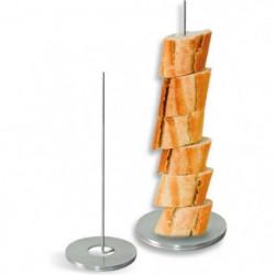 LEBRUN - Porte pain vertical a fil acier inox