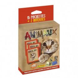 ANIMAUX Blister 15 pochettes + 2 offertes
