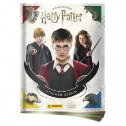 HARRY POTTER SAGA Album + porte cartes