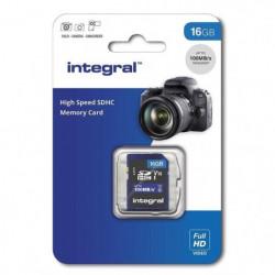 INTEGRAL MEMORY V10 Class 10 UHS-I U1 Carte SDHC 16 GB