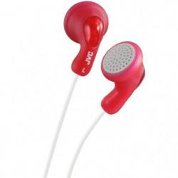JVC  HA F14 R - Ecouteurs bouton rouge