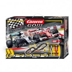 CARRERA GO!!! - Race Champions circuit électrique Formule 1 Duel