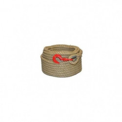 Corde a poulie cordage - Polypropylene - 20 mm x 30 m - Beige