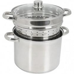 CREALYS 504626 cuit pates inox 8l induction