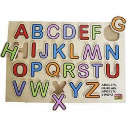 BSM Jeu d'encastrement ABC puzzle couleur - Mixte - Livré a