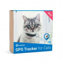 TRACTIVE Traceur gps chat - Collier GPS pour chat avec mécanisme