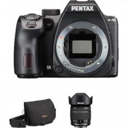 PENTAX K70 Appareil photo Reflex + Objectif 18-55mm WR + Sacoche