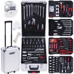 MASKO Valise multi outils 725 pieces - Gris