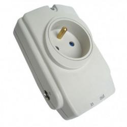 Bloc parafoudre 1 prise protection téléphone + TV